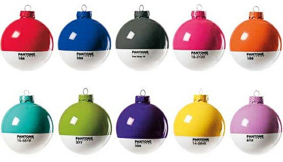 Pantone Christmas Ball Ornaments Are Drool Worthy One More Gadget Cool Christmas Tree Ornaments Impressive Cool Christmas Tree Ornaments - Christmas Moment