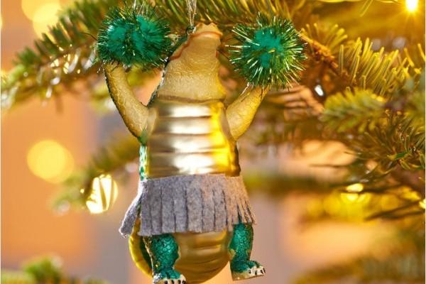 10 egyedi karácsonyfadísz